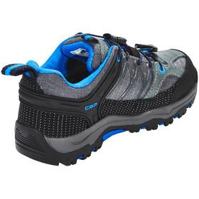 CMP Campagnolo Kids Rigel Low WP Trekking Shoes Grey-Zaffiro